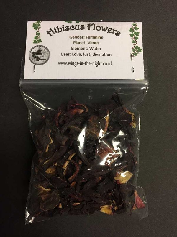 HIBISCUS Flower Dried Magical Herb